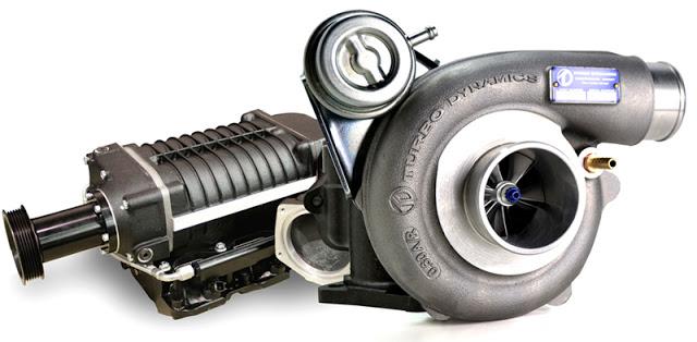 turbo ve supercharger süperşarj kopresör