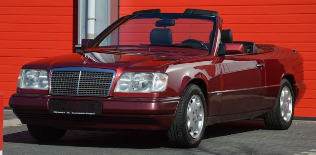 mercedes w 124 cabrio 4 sekiz silindir. Black Bedroom Furniture Sets. Home Design Ideas
