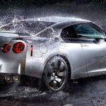 yağmurda araç