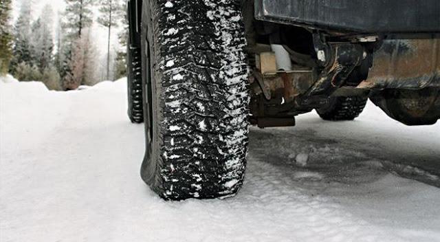 karda lastik basıncı