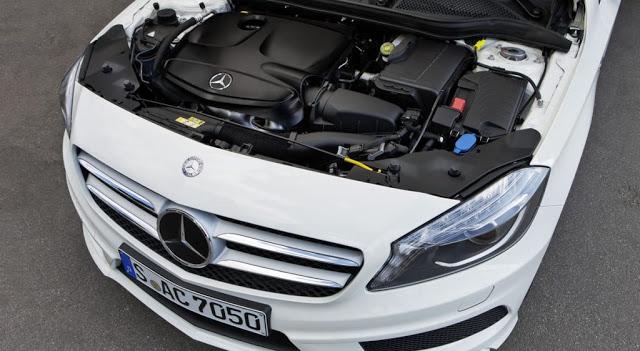 Mercedes renault benzin