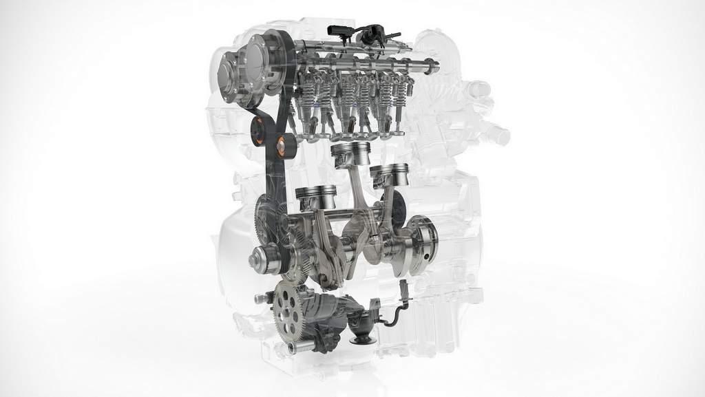 volvo 1.5lt 3 silindir turbo-benzin motor
