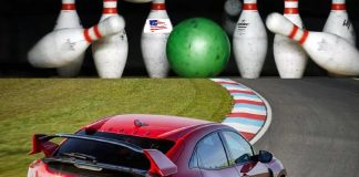 donald trump ve bowling topu