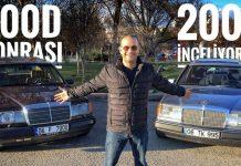 mercedes 200e w124 video