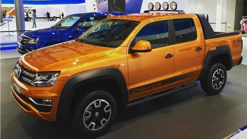 vw amarok canyon v6 2018