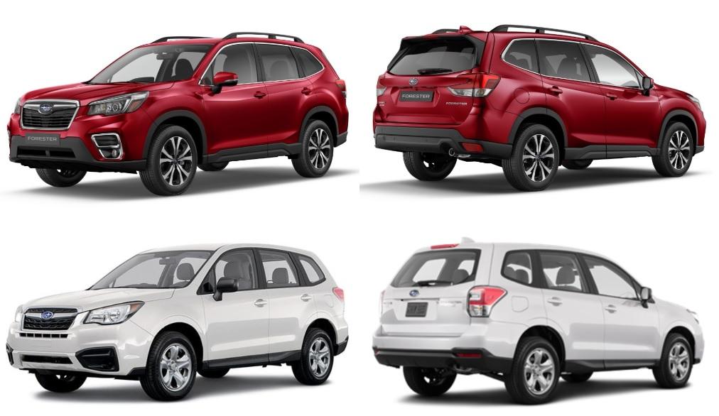 yeni Subaru Forester eski-yeni karşılaştırma ön-arka
