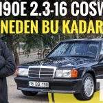 mercedes 190e 2.3 16 Cosworth video