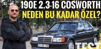 mercedes 190e 2.3 16 Cosworth video