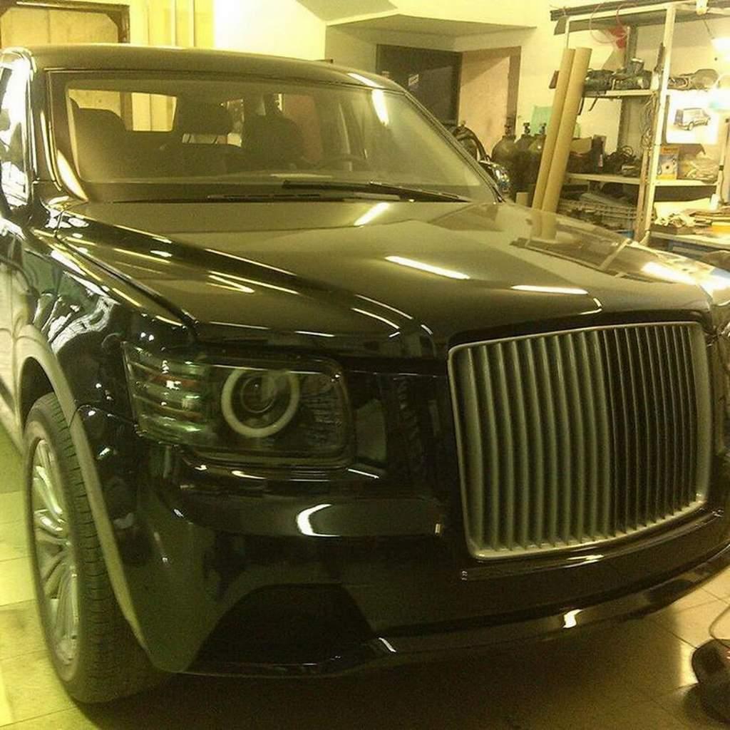 Rolls Royce Limo >> Putin'in yeni limuzini Aurus Senat resmi olarak tanıtıldı