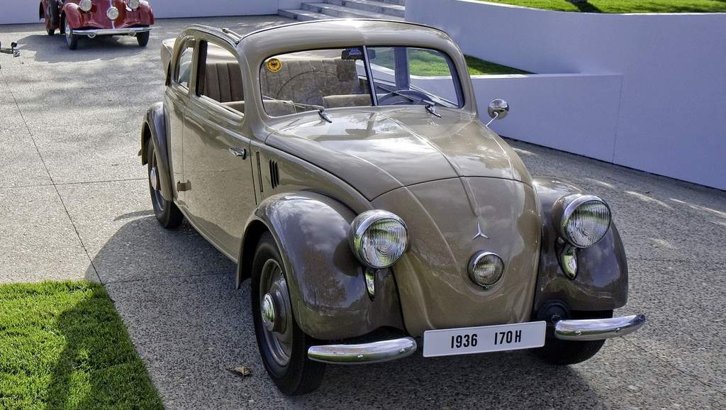 mercedes 170h vw beetle