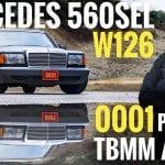 mercedes 560sel w126 tbmm başkanı makam aracı