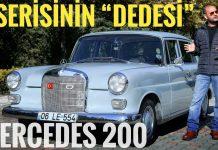 Mercedes 200 w110