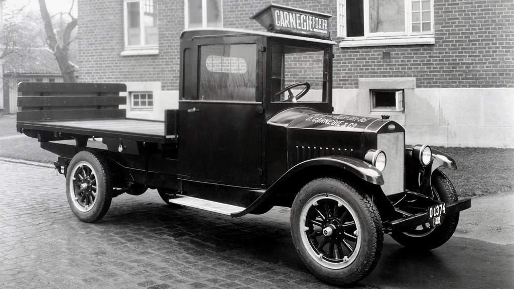 ilk volvo kamyon series 1