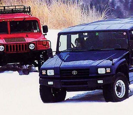 toyota mega cruiser vs hummer h1