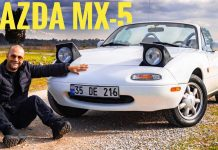 mazda mx-5 miata roadster 1992 model