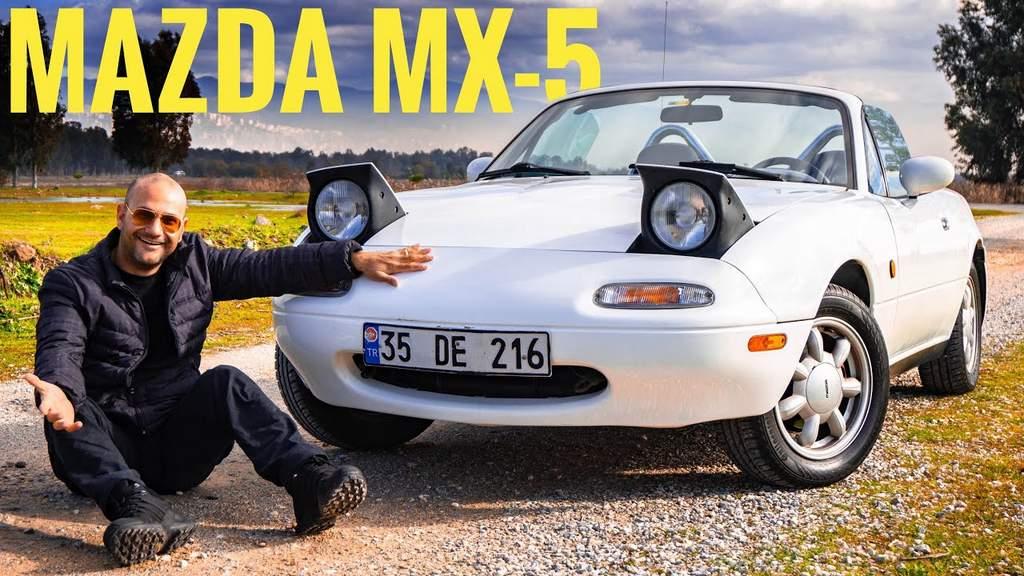 mazda mx-5 miata roadster 1992 model