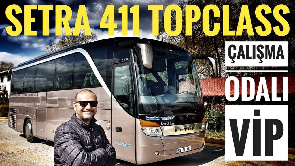 Setra S 411 HD Topclass