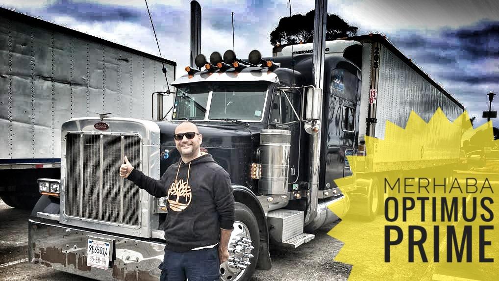 burunlu kamyon parkı