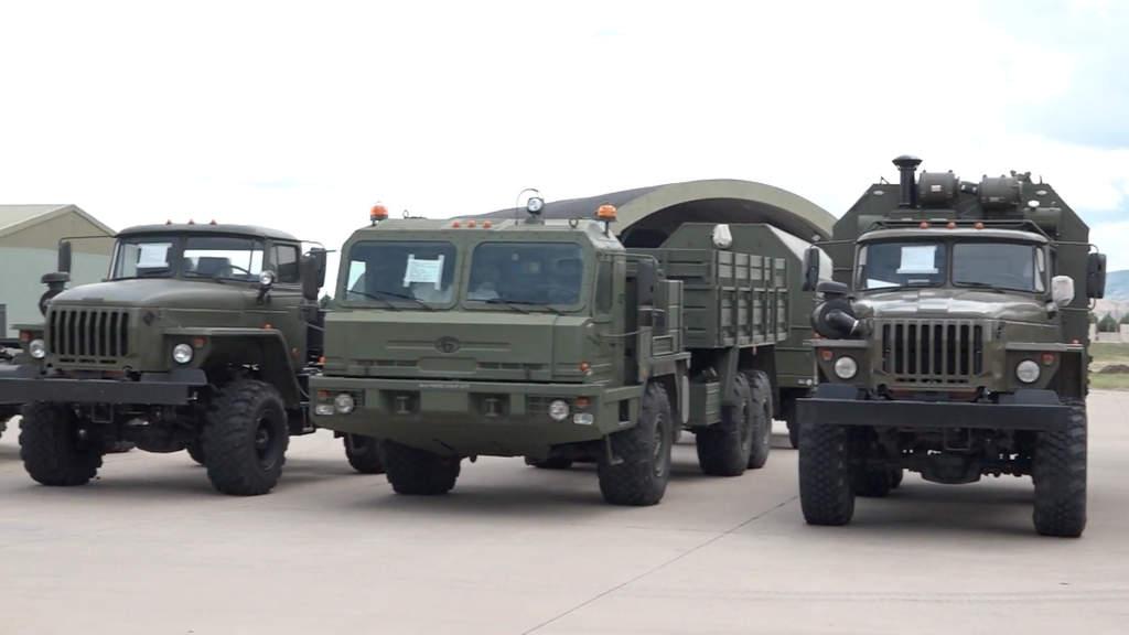 s-400 sisteminde yer alan kamyonlar