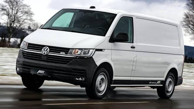 elektrikli Volkswagen Transporter