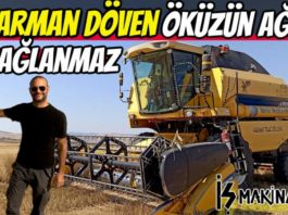 Biçerdöver New Holland tc5070 hasat harman