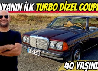 mercedes w123 300cd turbo diesel