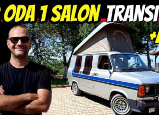 ford transit hymercar campervan karavan mk2